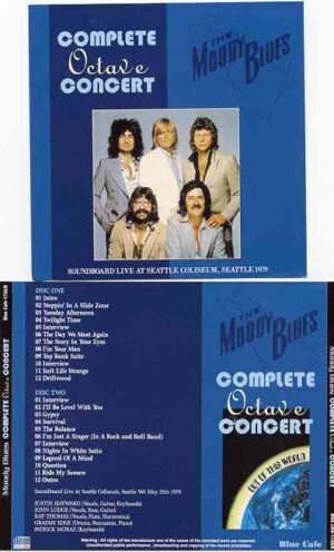 The Moody Blues - Complete Octave Concert ( 2 CD!!!!! set ) ( Live at Seattle Coliseum , Seattle , WA , May 25th , 1979 )