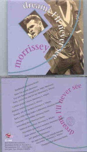 Morrissey - Dreams I'll Never see ( Leysin Rock Fest , Suisse , July 9th , 1992 ) ( Great Dane )