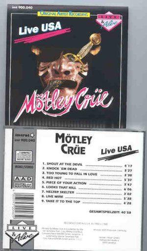 Motley Crue - Live USA