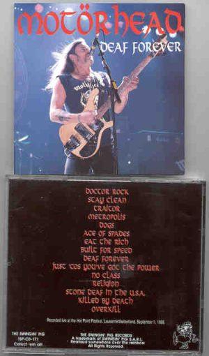 Motorhead - Deaf Forever ( Swingin' Pig )( Lausanne , Switzerland 9/1/88 )