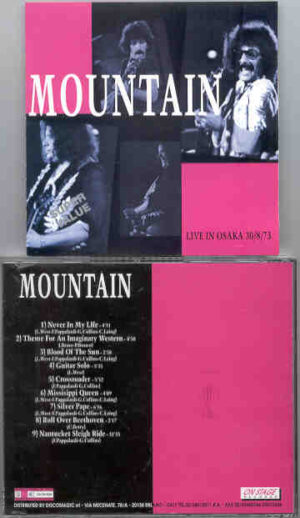 Mountain - Live In Osaka ( August 30th , 1973 ) ( On Stage Recs )