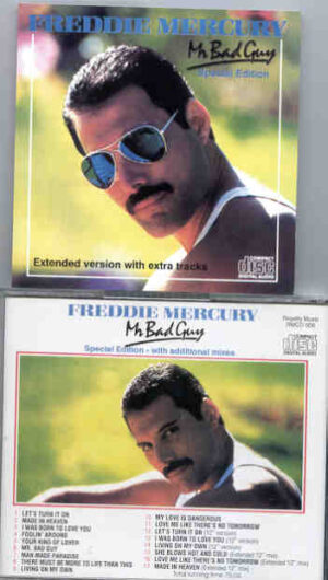 Queen - Mr. Bad Guy Special Edition ( Limited Edition w/ Extra Tracks )