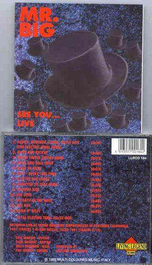 Mr. Big - See You ... Live ( Living Legend ) ( California & Dallas , USA ,'91 )