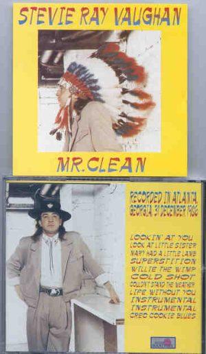 Stevie Ray Vaughan - Mr. Clean  ( Silver Rarities ) ( Atlanta , Georgia , December 31st , 1986 )