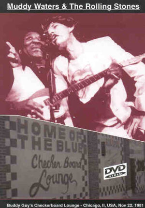 DVD The Rolling Stones - Muddy Waters And The Rolling Stones ( Chicago , November 22nd , 1981 )