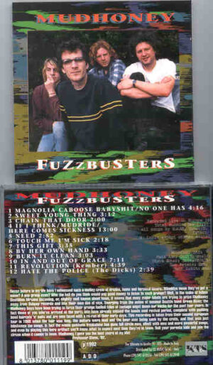 Mudhoney - Fuzzbusters ( KTS ) ( Live In Europe 1989 )