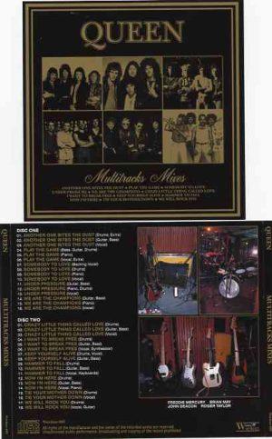 Queen - Multitracks Separated Vol I ( 2 CD!!!!! ) ( Bohemian Rhapsody , Get Down Make Love , Killer Queen , Brighton Rock , One Vision & more )