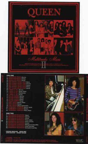 Queen - Multitracks Separated Vol II ( 2 CD!!!!! ) ( We Will Rock You , Someone to Love , Play The Game , Under Pressure , Crazy Little Thing & more )