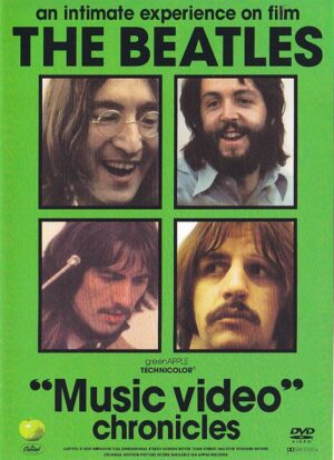DVD The Beatles - Music Video Chronicles ( 4  DVD SET )