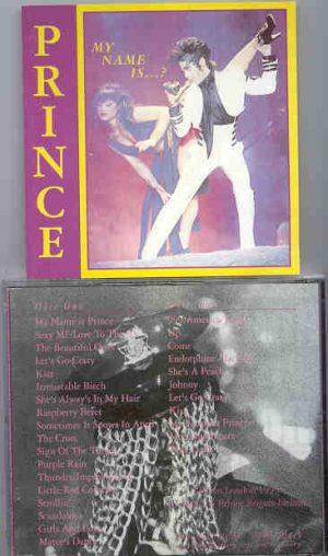 Prince - Mi Name is ? ( 2 CD!!!!! set ) ( Live In London , UK , 1993 )