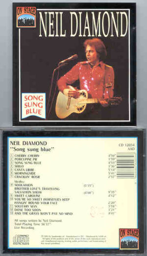 Neil Diamond - Song Sung Blue ( Rare Live Tracks ) ( On Stage )