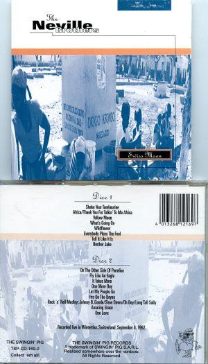 Neville Brother - Swiss Moon ( 2 CD!!!!! set ) ( Swingin' Pig ) ( Live in Winterthur , Switzerland , September 4th , 1992 )