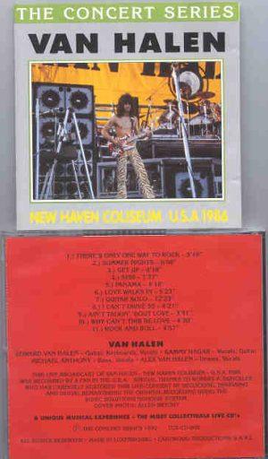 Van Halen - New Haven Coliseum , USA 1986