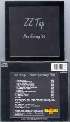 ZZ TOP - New Jersey 1980  ( Living Legend )