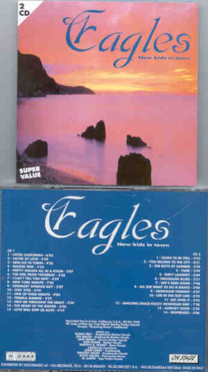 The Eagles - New Kids In Town ( On Stage Recs ) ( 2 CD!!!!! set )