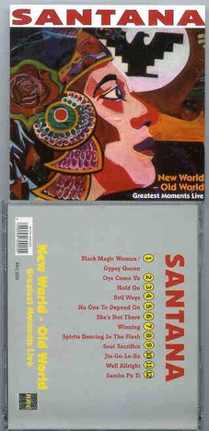 Santana - New World , Old World