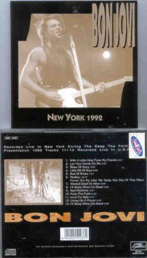 Bon Jovi - New York 1992 ( Live Storm )