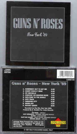 Guns N' Roses - New York '89 ( Living Legend )