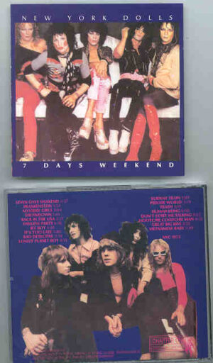 New York Dolls - 7 Days Weekend ( Chapter One Recs ) ( Live In USA 1973  )