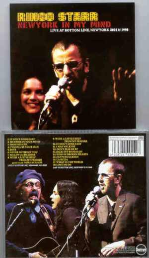 Ringo Starr - New York In My Mind ( Live at The Bottom Line , New York , 2003 )