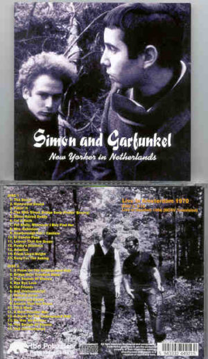 Simon & Garfunkel - New Yorker In The Netherlands ( 2 CD!!!!! set ) ( Amsterdam 1970 )