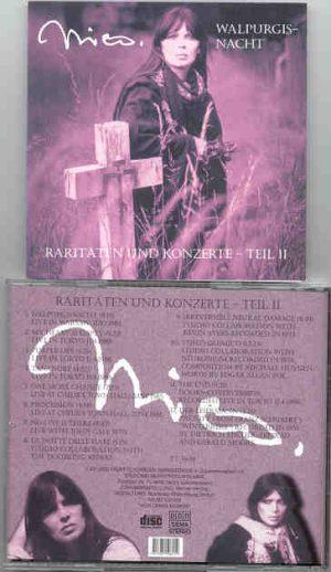 Lou Reed / Velvet Underground - NICO Wallpurgisnacht  ( Raritaten Teil II )
