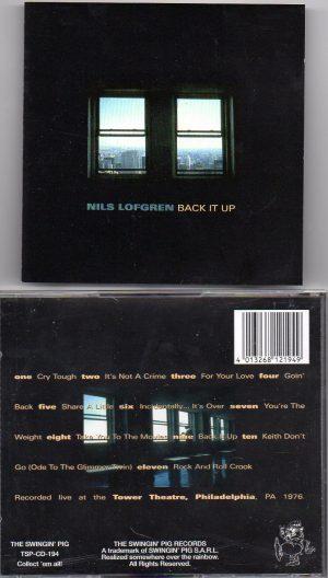 Nils Lofgren -  Back It Up ( Tower Theatre , Philadelphia , PA , 1976 )  ( Swingin' Pig )