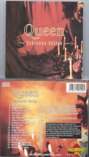 Queen - Noblesse Oblige ( Living Legend )