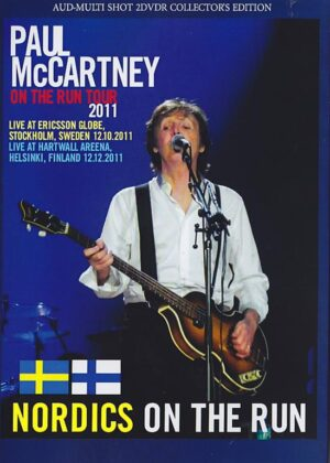 DVD Paul McCartney - Nordics On The Run ( 2 DVD set ) ( Stockholm Sweden , December 10Th 2011 & Helsinki Finland December 12th , 2011 )