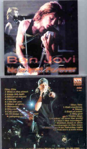Bon Jovi - Now And Forever ( 2 CD!!!!! SET ) ( KTS ) ( Wembley Stadium , London , June 26th , 1995 )