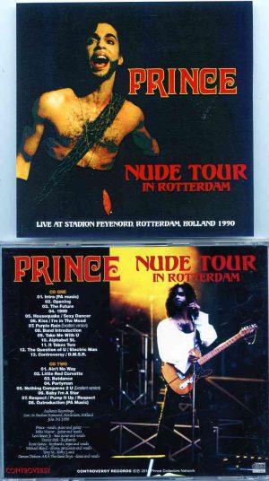 Prince - Nude Tour In Rotterdam ( 2 CD!!!!! ) ( Stadiom Feyenoord , Rotterdam , Holland , June 3rd , 1990 )