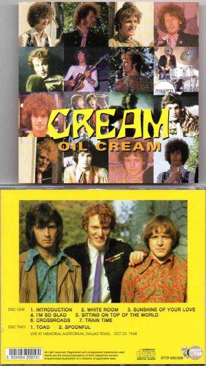 Jack Bruce - Oil Cream ( Cream Live At Memorial Auditorium , Dallas , Texas , October 25th , 1968 )