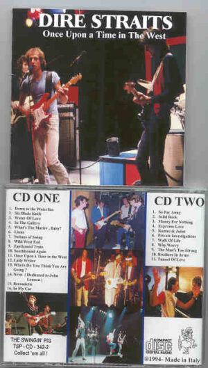 Dire Straits - Once Upon A Time In The West ( Swingin Pig ) ( 2 CD!!!!! SET )