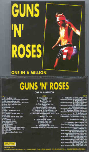 Guns N' Roses - One In A Million ( 3 cd set ) ( On Stage Recs )