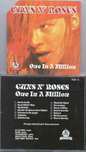 Guns N' Roses - One In A Million ( Templar )