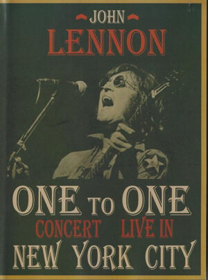 DVD John Lennon - One To One Concert - Live In New York City ( Gravity Ltd 1992 Version + Capitol 1985 Version )
