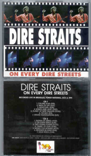 Dire Straits - On Every Dire Streets ( 2 CD!!!!! SET ) ( Live in Brussels , Forest National , October 2nd , 1991 ) ( Beech Marten )