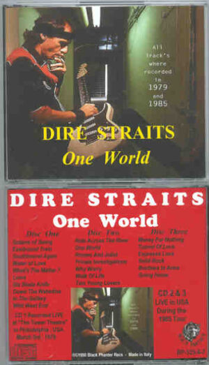 Dire Straits - One World ( 3 cd set ) ( Live in USA , During the 1985 US Tour )