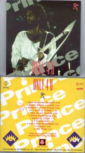 Prince - Only 4 U Volume One     ( Big Music )