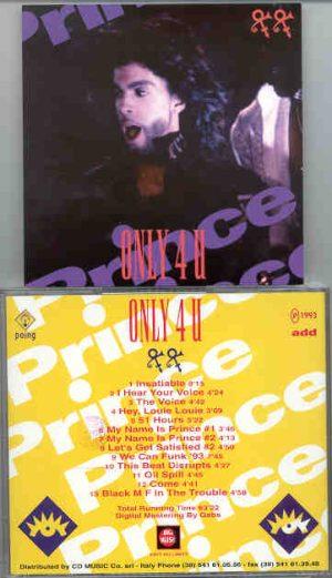 Prince - Only 4 U Volume Two    ( Big Music )