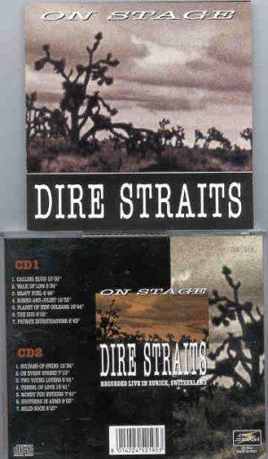 Dire Straits - On Stage ( 2 CD!!!!! set ) ( Zurich , Switzerland )