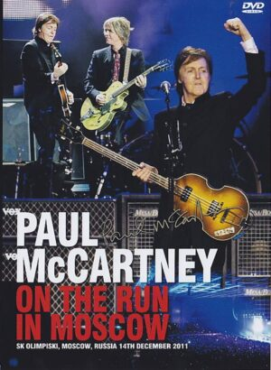 DVD Paul McCartney - On The Run In Moscow ( 2 DVD SET ) ( Live at Olimpiski , Moscow , Russia , December 14th , 2011 )