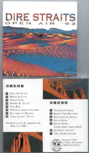 Dire Straits - Open Air 1992 ( 2 CD!!!!! set ) ( Live at St Jakob Sation , Basel , 5/7/92 )
