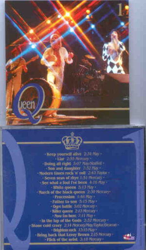 Queen - Opera Omnia Vol 1 ( Great Dane - Red Phantom )