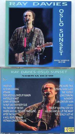 The Kinks - Old Sunset  ( Ray Davies ) ( 2 CD!!!!! ) (  Sentrum Scene , Oslo , Norway , October 7th , 2009 )