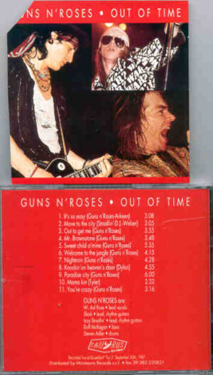 Guns N' Roses - Out Of Time ( Dusseldorf , Germany , September 30th , 1987 )