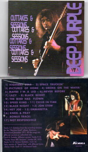 Deep Purple - Outtakes And Sessions( Outtakes from the Machine Head Recording Sessions , Montreaux 71 plus bonustracks )