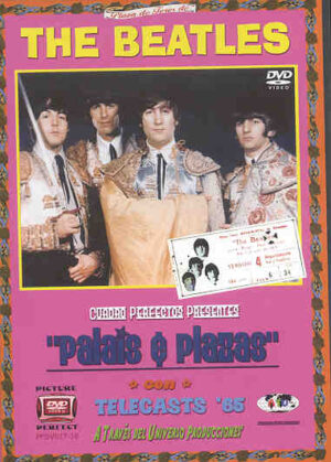DVD The Beatles - Palais And Plazas ( 2 DVD SET )