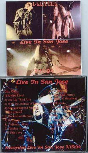 Pantera - Live in San Jose ( 2 CD!!!!! set ) ( July 15th , 1994 )