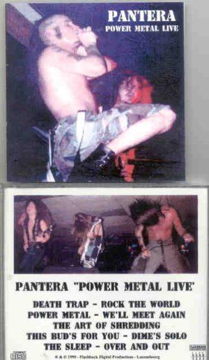 Pantera - Power Metal Live (Flashback ) ( Dallas , Texas , December 1989 )